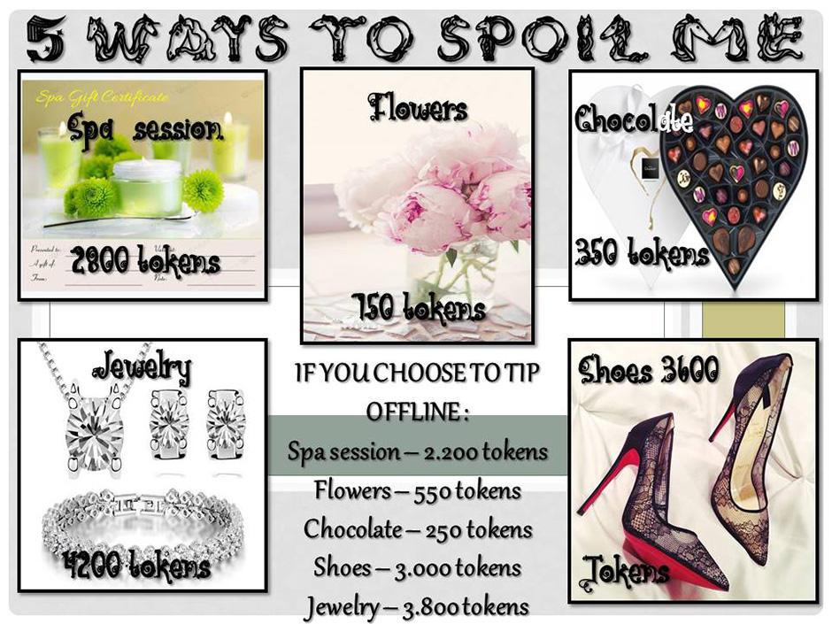 5 Ways To Spoil Me
