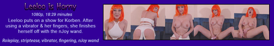 LeeLoo is Horny