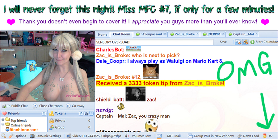 Miss MFC 7 OMG