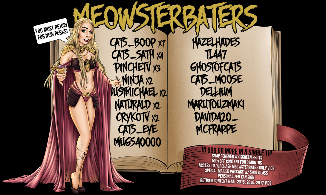 Meowsterbaters