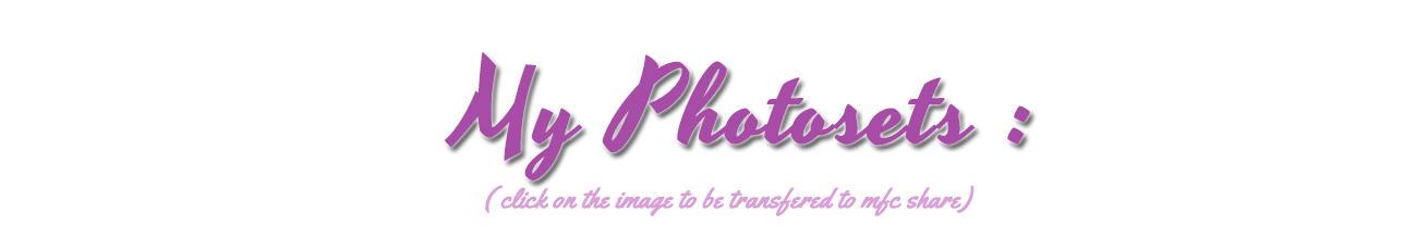 Photosets Banner