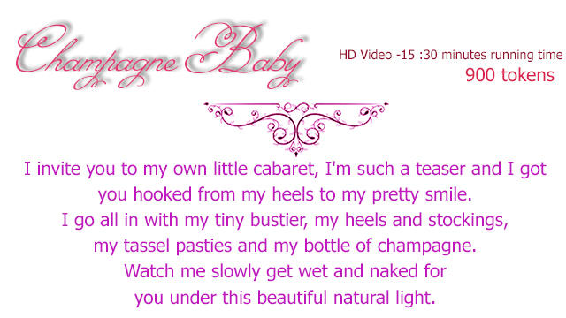 Champagne Baby description