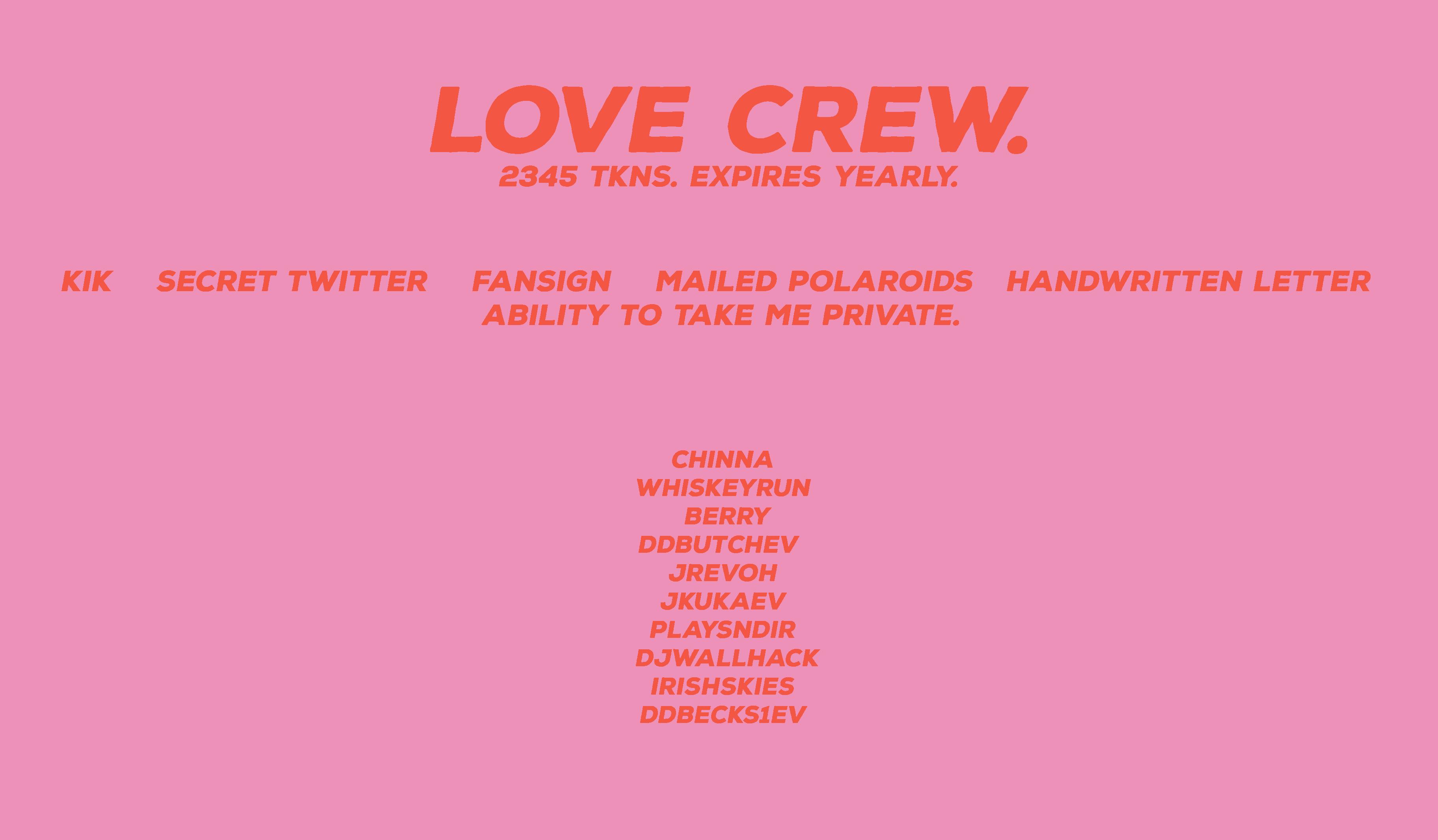 lovecrew