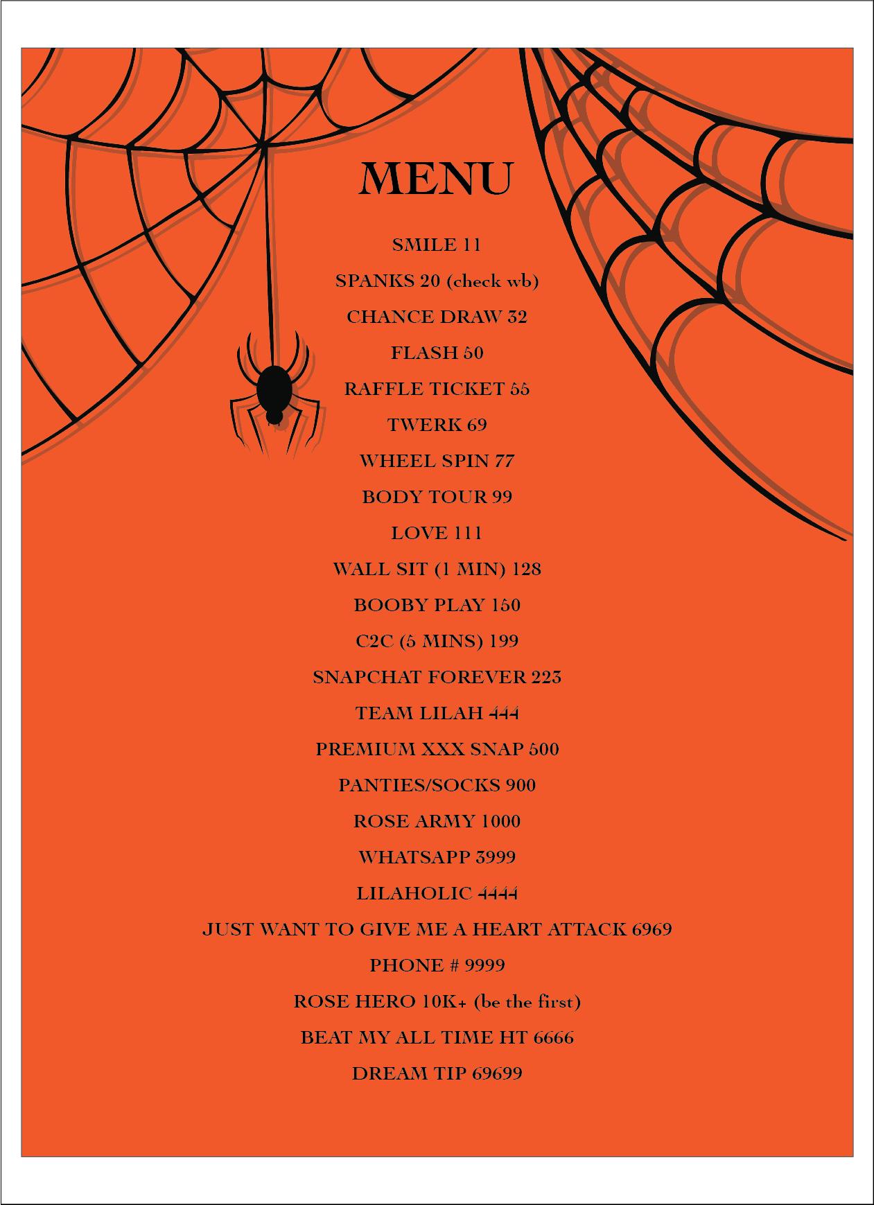 tip menu