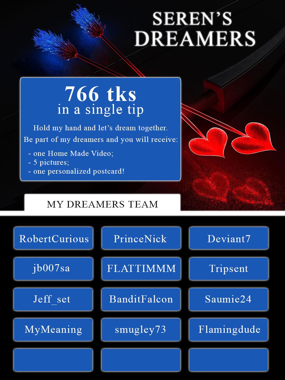 Dreamers List