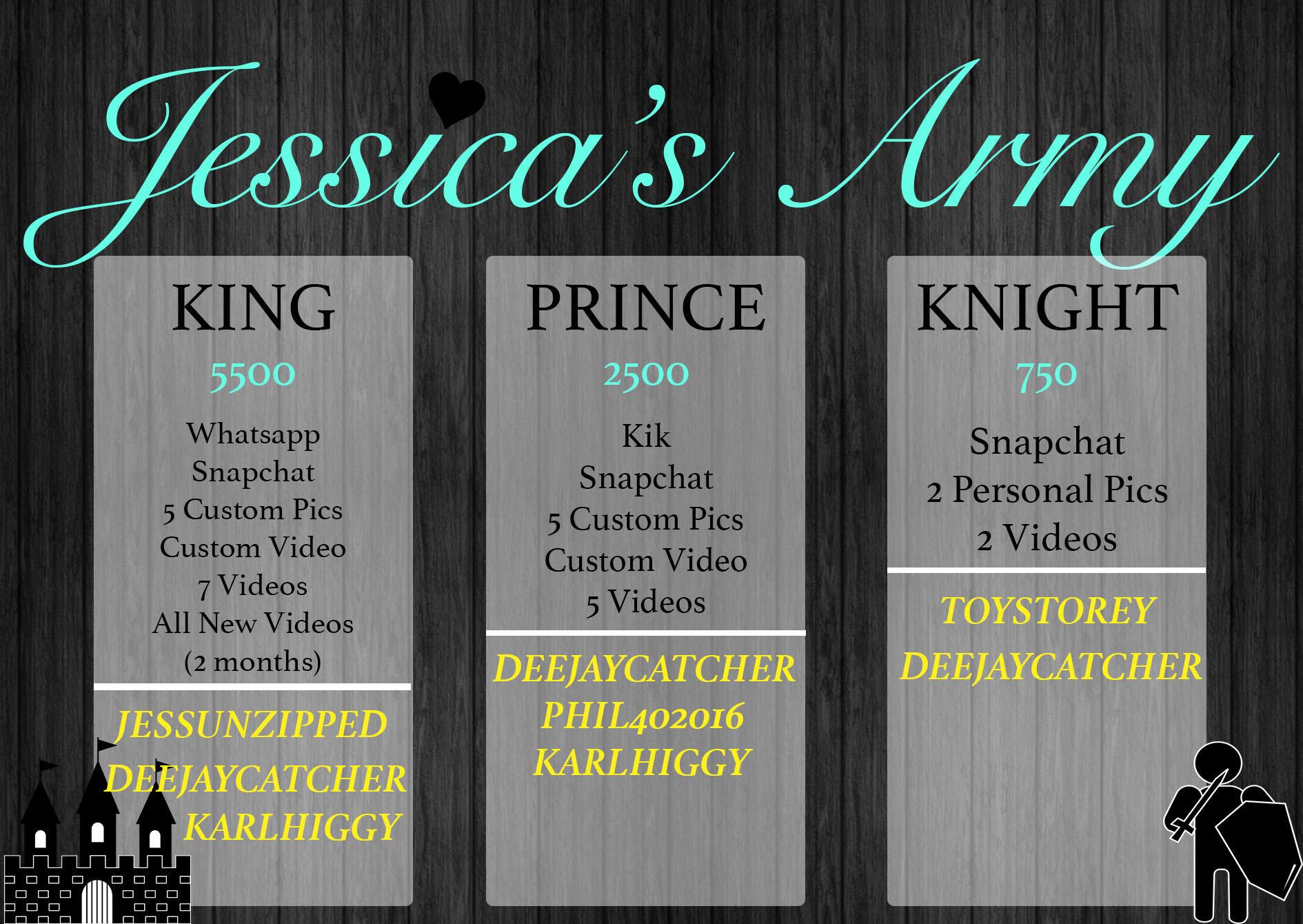 jessicas army copyright
