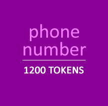 Phone Number - 1200 Tokens