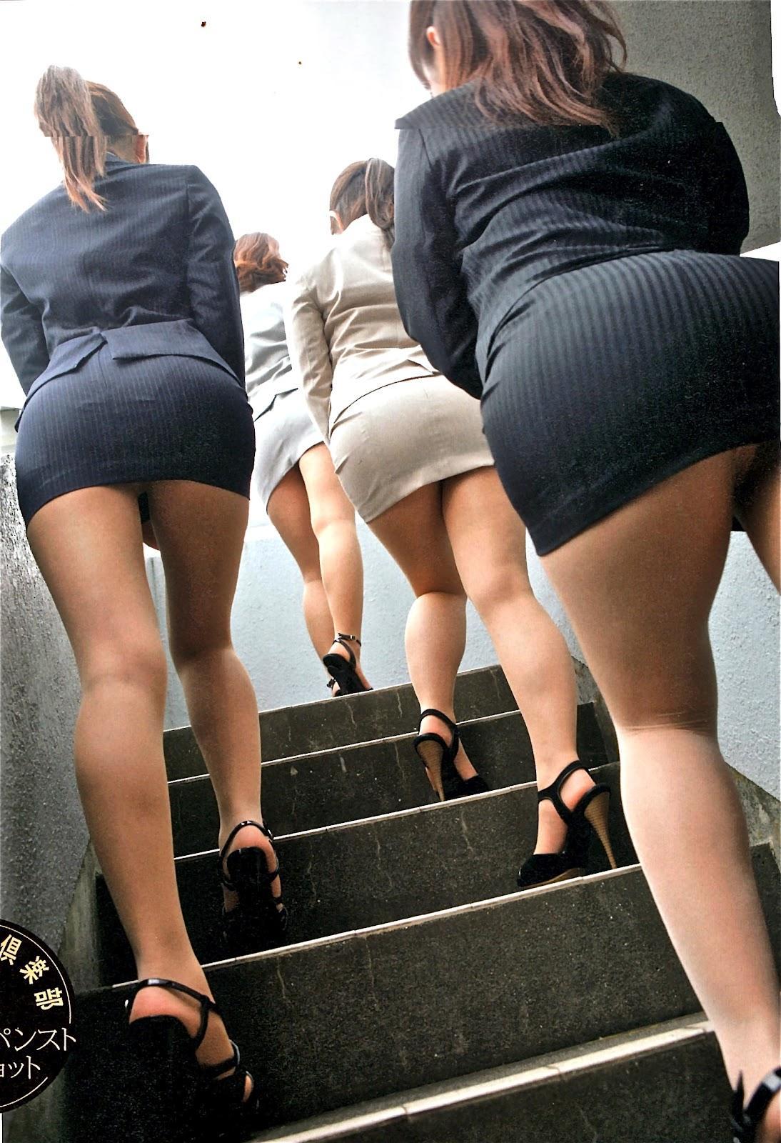 Oficina asiática chicas desnudas