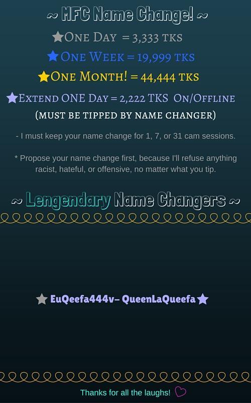 Name Change
