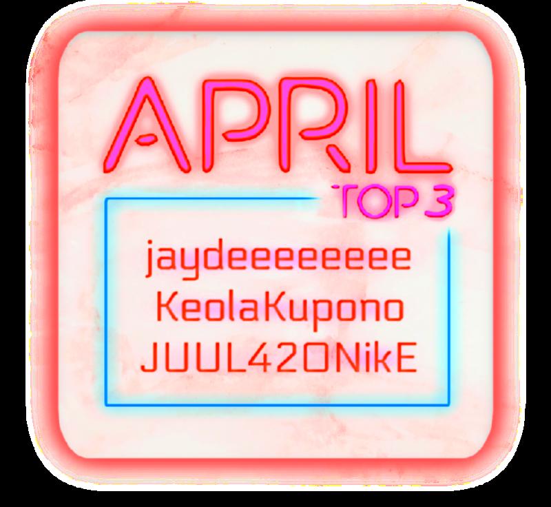 April Top 3